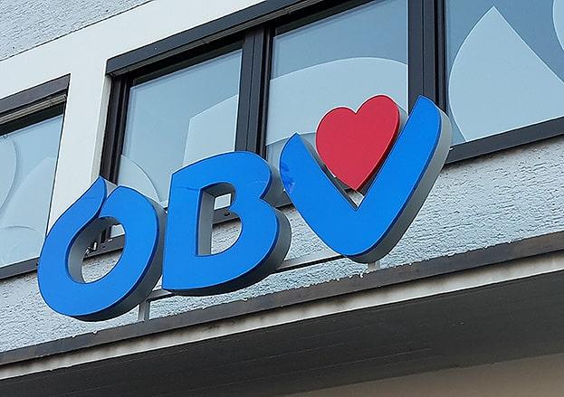 3D Buchstaben Firmenbeschriftung