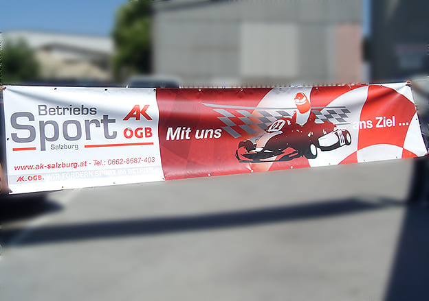 Großformatbanner AK Salzburg