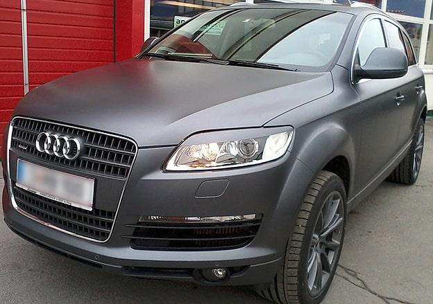 Vollflächenfolierung Audi