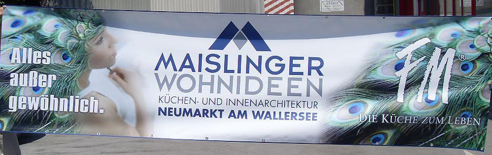 Banner Maislinger Druck