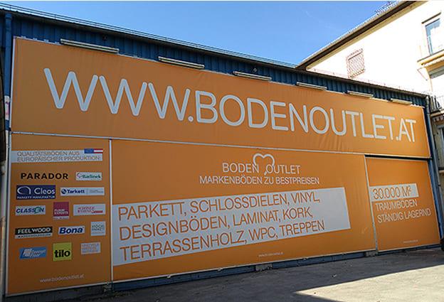 Bodenoutlet Banner