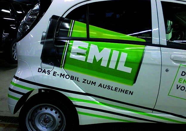 Emil Digitaldruck für Fahrzeuge
