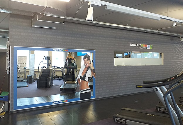 Digitaldruck Wandtapete Fit Inn Fitnessstudio