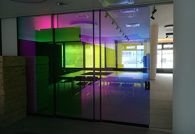 Glasdekor 3M Dichroic