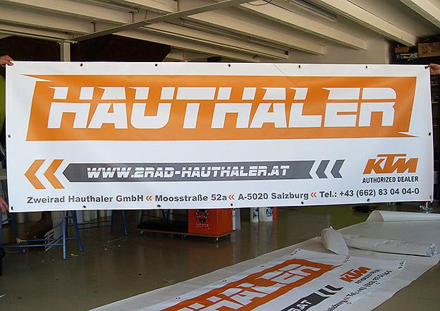 Banner Hauthaler