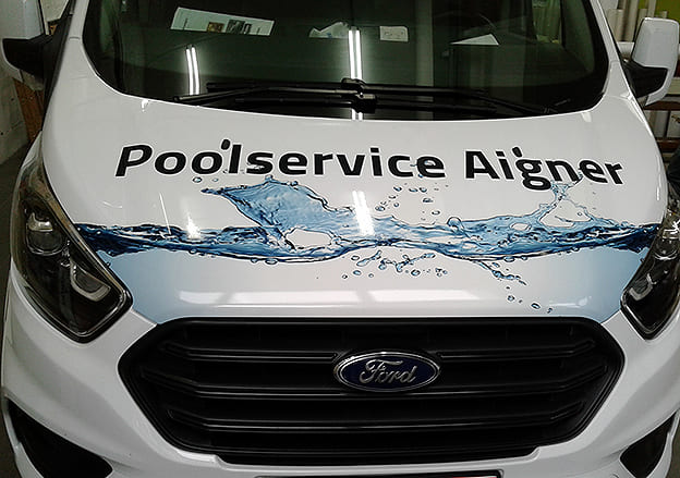 Digitaldruck Poolservice Aigner