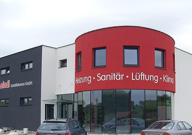 Fassadenbeschriftung Loindl