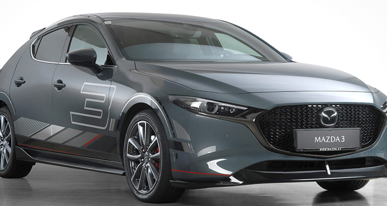 Designfolierung Mazda 3