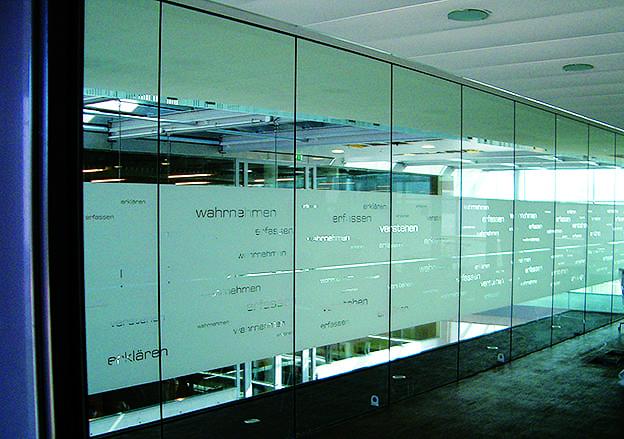 Sichtschutzfolie Glasdekorfolie
