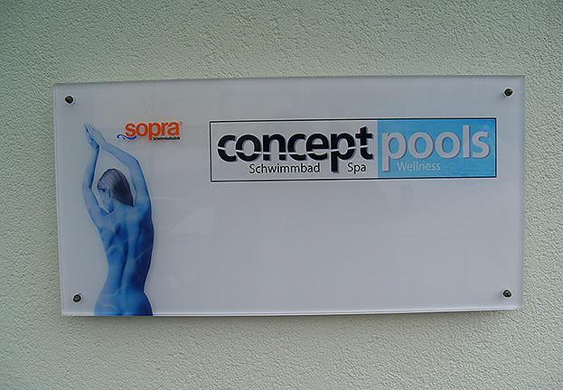 Schild Concept Pools