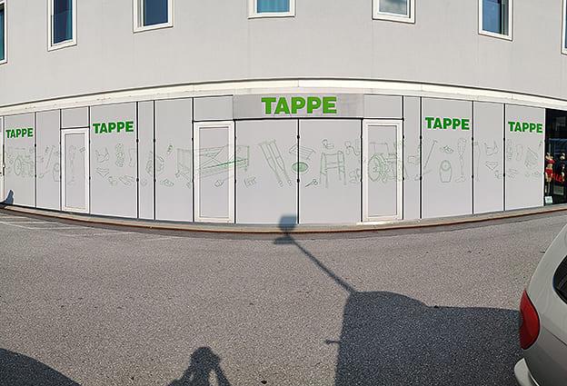 Klebefolie Sichtschutz Tappe Salzburg