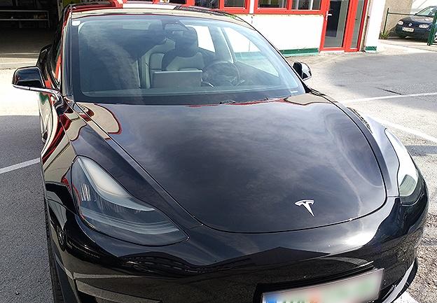 Scheinwerfer Tönung Tesla