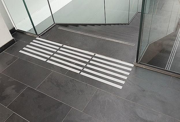 taktile Kennzeichnung Treppen