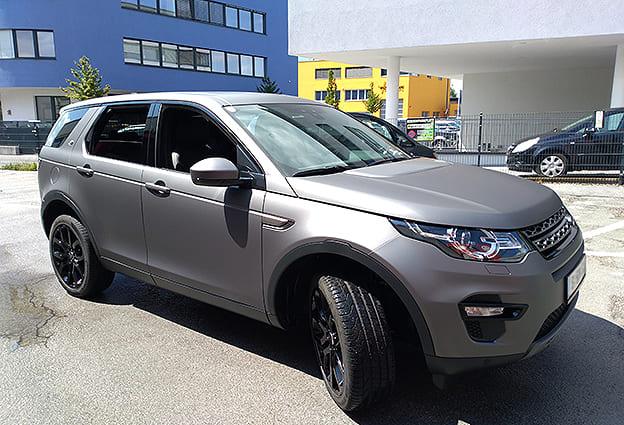 Land Rover Vollflächenfolierung